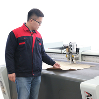 Auto Feeding Cnc electric fabric cutter industrial leather cutting carpet machines for leather rubber fabric clothing cutting