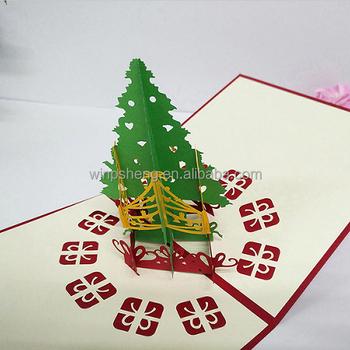 Handmade 2018 Merry Christmas Greeting Card With Ribbon Buy