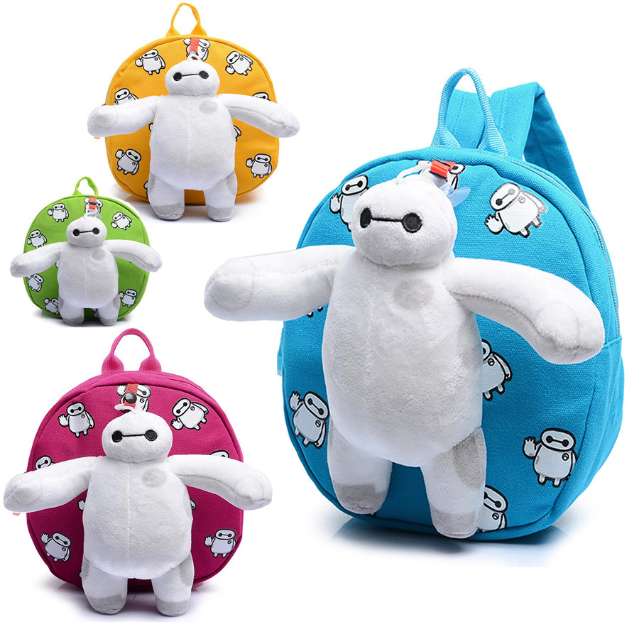 Get Quotations · 2015 Hot Sale Children s School Bag Cute Cartoon Short Plush  Baby Backpack Baby Double-shoulder 619b111b5eab8