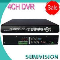 CE FCC Rohs!!! 4 channel cctv dvr pci card h.264