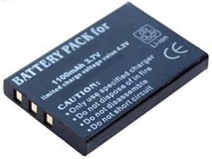 iTEKIRO 1100mAh Battery for HP V5040U Digital Video Camcorders
