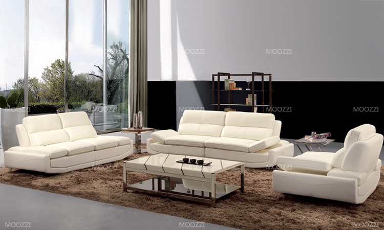 Import Foshan Shunde furniture Italy leather <strong>sofa</strong> from China