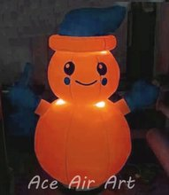 outdoor large with led lighting for holiday decoration 13 feet Christmas inflatable snowman