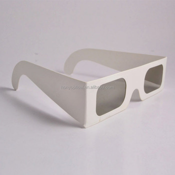 Printing Logo Hot Sale Disposable Paper Linear Polarizer Imax 3D Glasses