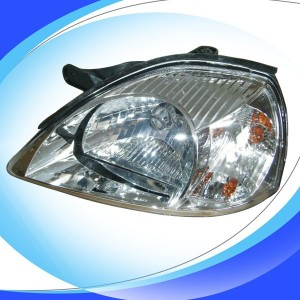 For Kia Rio 2003 head light/car headlight manufacturer/head lamp glass lens