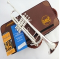 American Bach Original authentic Double silver plated TR 190GS B flat professional trumpet Top musical instruments