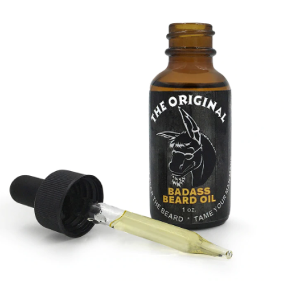 Fait sur commande naturel huile de barbe set étiquette privée huile de barbe organique