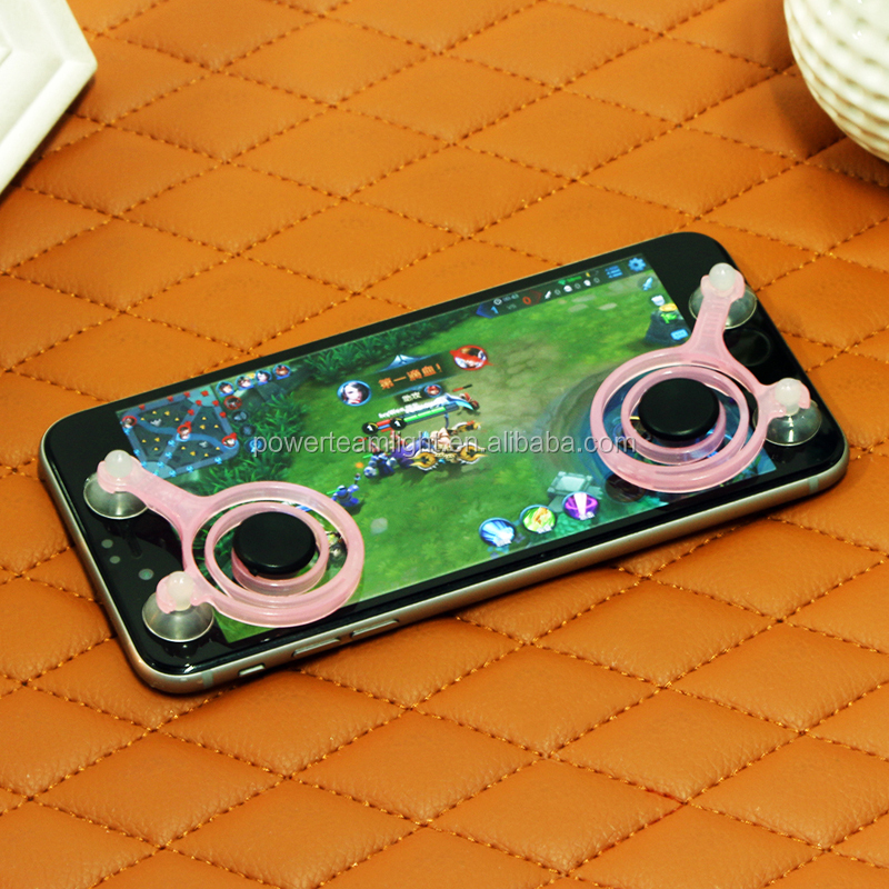 Portable Mini Pink Mobile Phone Game Joysticks For Smartphone Tablet Arcade Physical Games