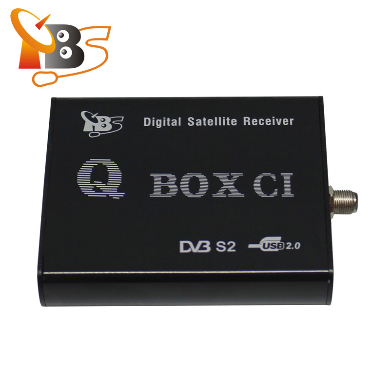 TBS5980 USB Digital <strong>Satellite</strong> External <strong>TV</strong> <strong>Tuner</strong> CI Module Qbox <strong>HD</strong> Receiver for Watching FTA and Encrypted Pay <strong>TV</strong> Channels