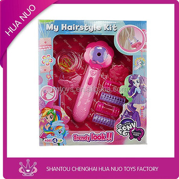 my hairstyle kit toy hair styling set toy fashion girls beauty play