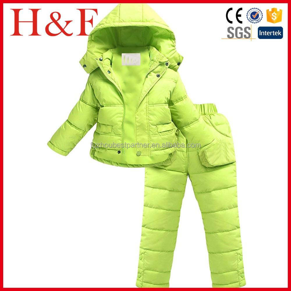 5467bc53e عالية الجودة للأطفال snowsuit الأطفال بدلة تزلج طفل تسلق الملابس ...