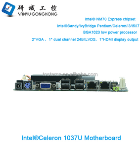 i7 i5 i3 Processor Celeron 1037U motherboard for desktop