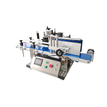 Wholesale Easy Operate Water Drinks Double Side Label Sticker Round Bottle Automatic Bottle Labeling Machine