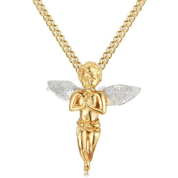 Custom design factory direct new gold chain pendant design for men custom design factory direct new gold chain pendant design for men hip hop angel pendants necklaces aloadofball Image collections