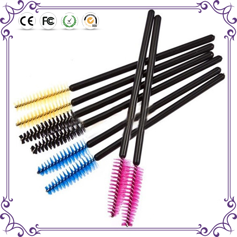 50pcs/lot synthetic hair convenient disposable eyelash extension brush