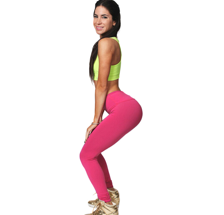 ae9635b5f9b0f 2015 fashion sexy sports pants leggings training bodybuilding fitness  clothing gym clothes running trousers Plus Size