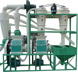 10TPD Small Scale Rice Flour Milling Equipment