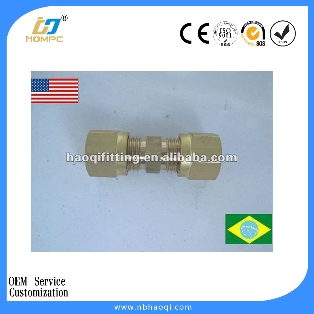 Forged Brass Compression Male Union For Brazil and USA market