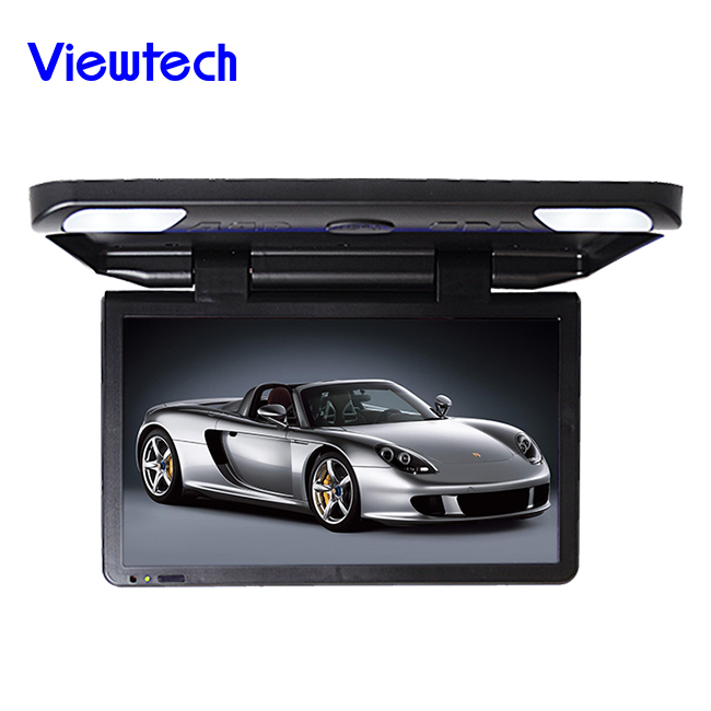 18.5 inch car roof mount led monitor with tv