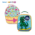 custom waterproof thermal eco canvas cartoon box insulated kids lunch cooler bag
