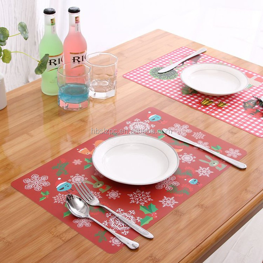 Disposable Placemats Baby Pcs Placemats Coaster Packing - Clear placemats for table