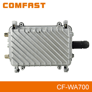 2.4Ghz High Power Wireless Outdoor CPE COMFAST CF-WA700 48V POE Power Adapter Double 7 DBi Antenns Double PA
