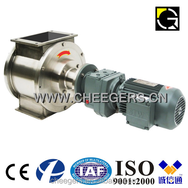The rotary valve & stainless steel & airlock & changeover valve