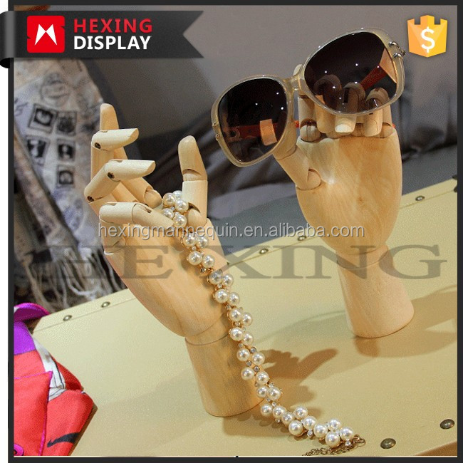 Adjustable Wooden Hand Mannequin Dispaly Jewelry mannequin