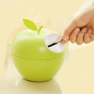 2016 new design fruit apple Bank money Saving Box Coin money box