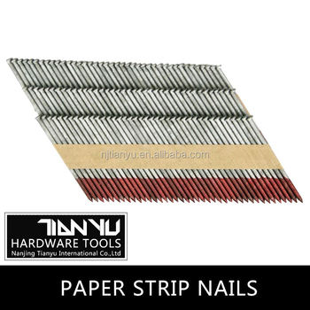 Factory Paper Strip Nail 28 34 Degree Collated Nails