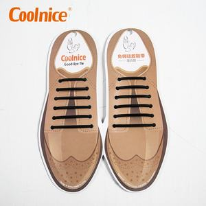 c36583ecc82b eco-friendly easy no-tie lazy shoelace design your own round leather silicone  custom
