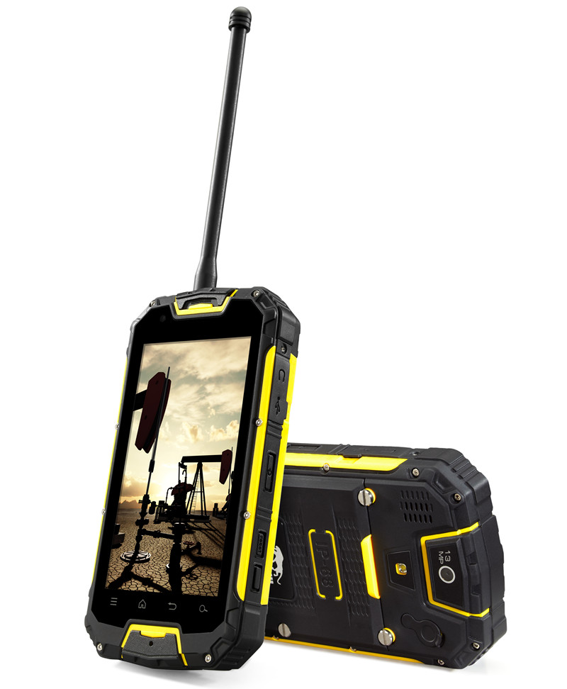 2017 New Design Rugged Phone 5 Inch 4G LTE Waterproof IP68 Rugged Smart Mobile Phone