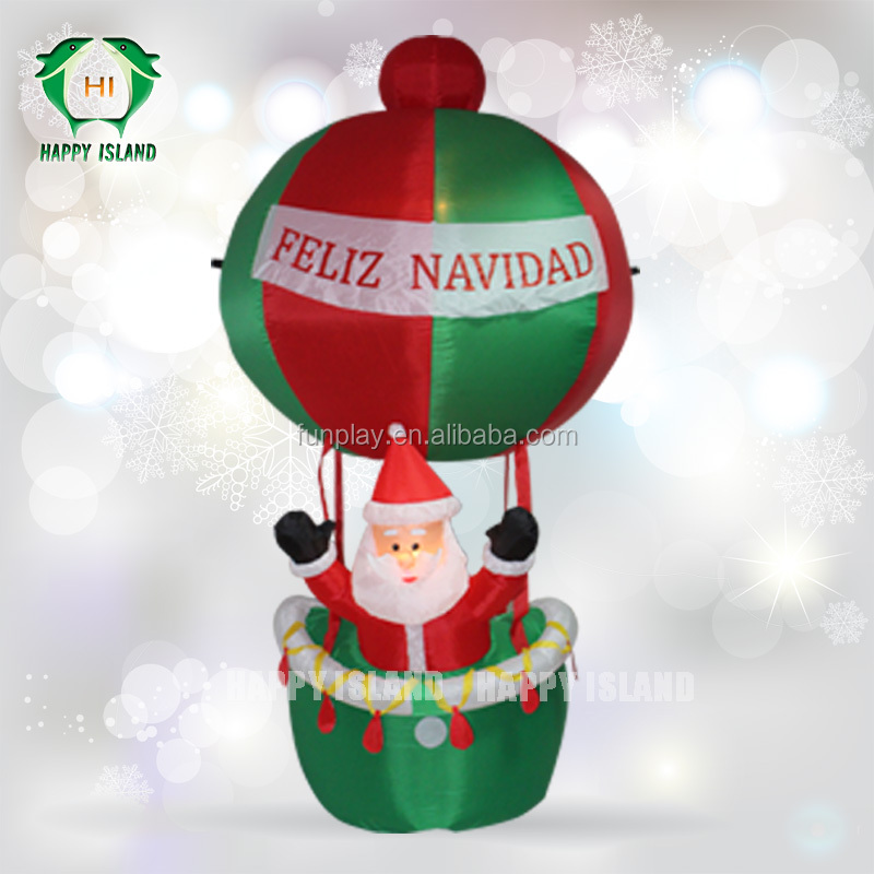 Christmas decoration santa claus for outdoor using,giant christmas santa,giant outdoor santa clause inflatable advertising