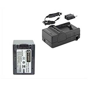 Sony DCR-HC52 Camcorder Accessory Kit includes: SDM-109 Charger, SDNPFH70 Battery