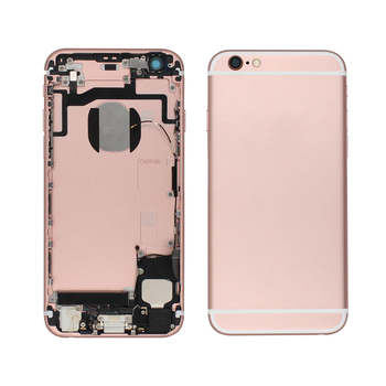 with free shipment Metal back cover assembly for iphone 6s back housing for iphone 6s