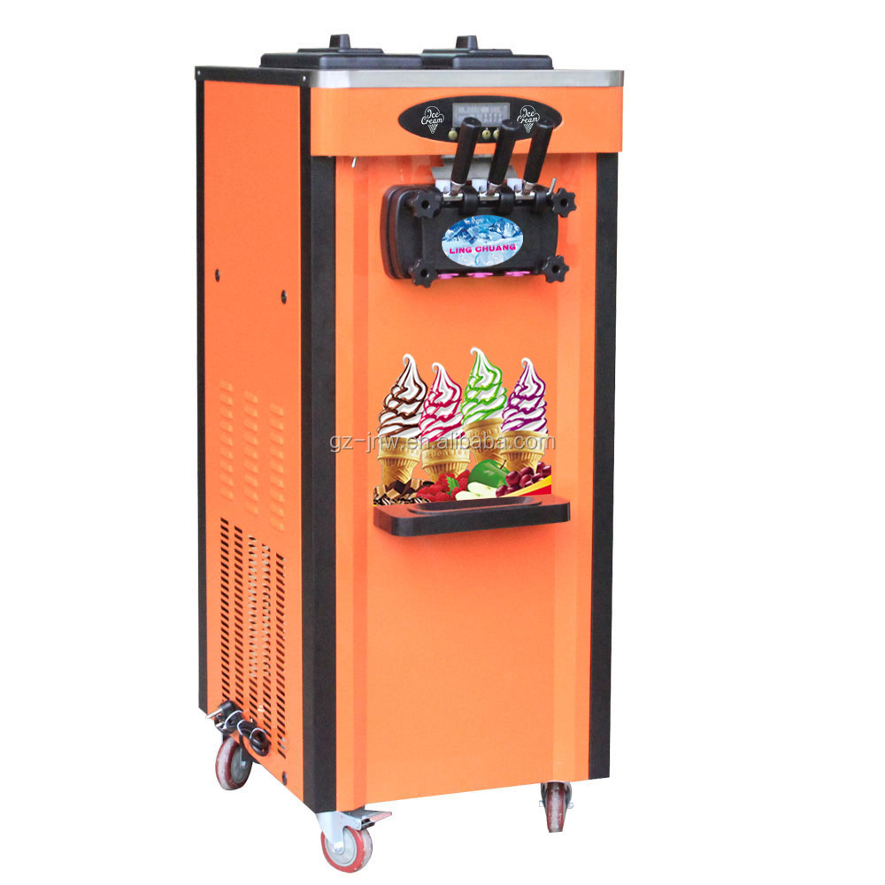 Manufacturer supply Commercial soft ice cream making machine