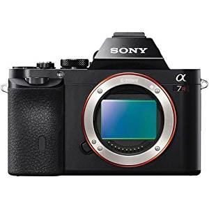 Sony ILCE-7R/B a7R Full Frame OLED DSLR Mirrorless Camera Wi-Fi - Black (Certified Refurbished)