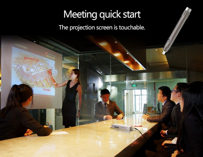 FULL HD 1080P Android 4.4 Finger touch Portable Led Mini Portable Interactive Projector