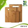 High Quality 3-Piece Bamboo Cutting Board and Serving Set