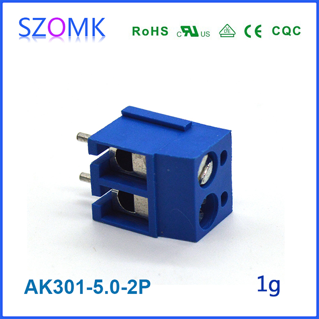 High Quality Project Use 2 Pins Screw Style Terminal Block