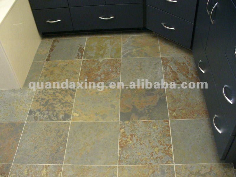 Leisteen tegelvloer voor keuken vloer gebruik leisteen product id ...