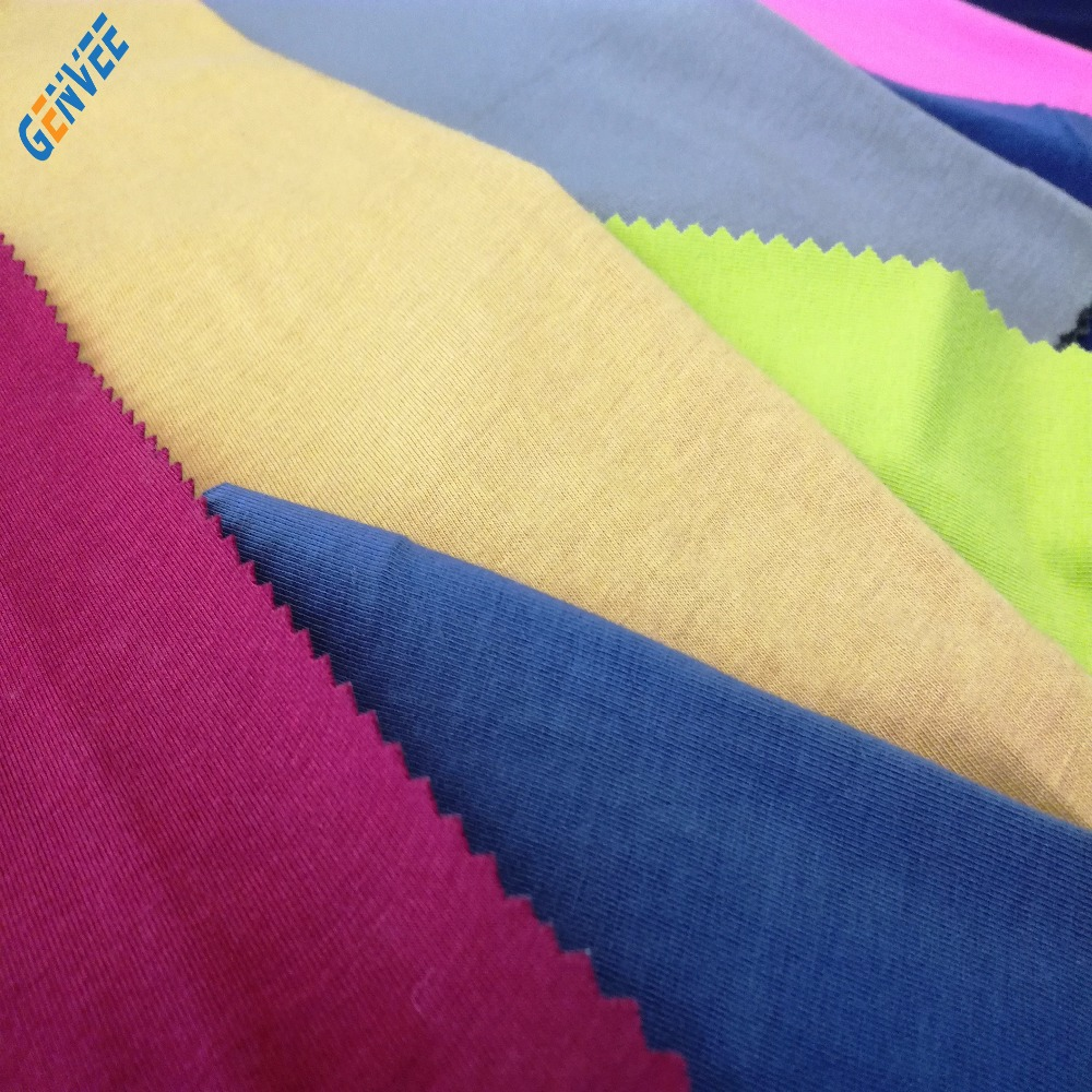 Tencel and Cotton knitted fabric for Garment