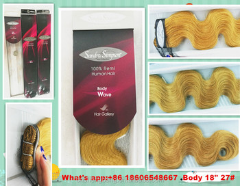 "Promotion! 100%human hair weft Body wave 18"" and 22"" 27#,8a brazilian remy hair body wave"