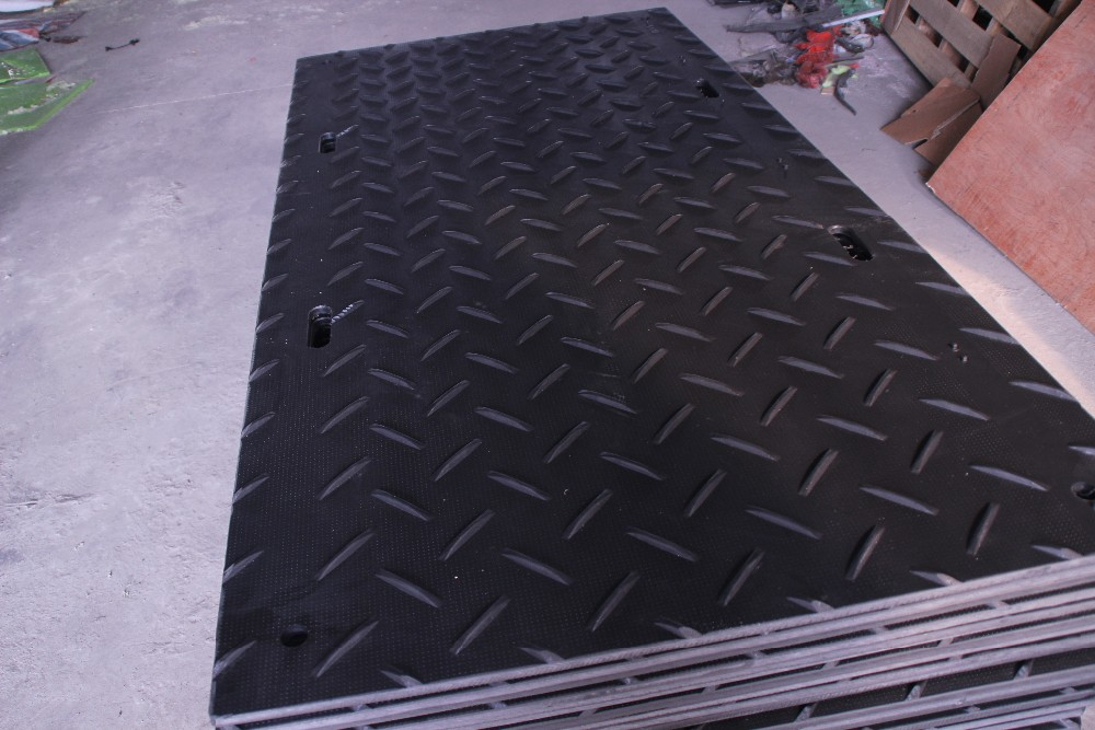 durable temporary construction ground protection mat hdpe
