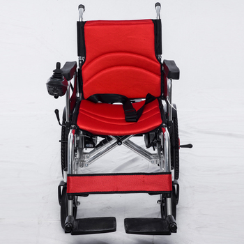 Outdoor Cheapest Price Handicapped Electric Wheelchair With Joystick Controller