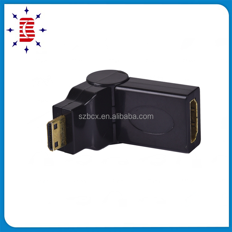 new style mini hdmi to rca cable hdmi 19m to female 90 degree scart to hdmi cable for wholesale