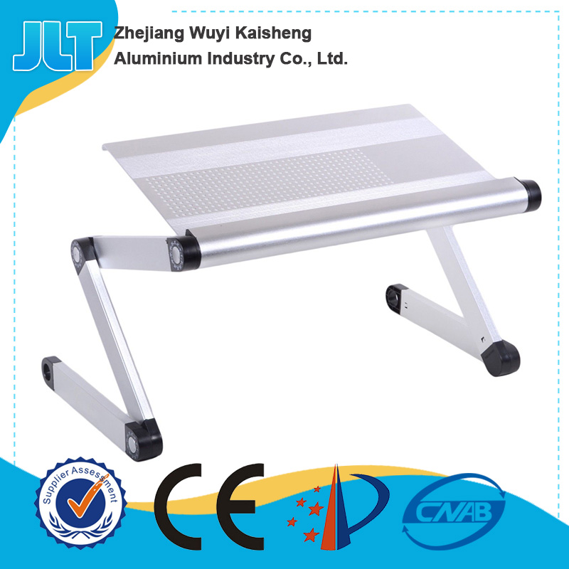 Factory direct laptop table desk folding bed study table with cooling holes