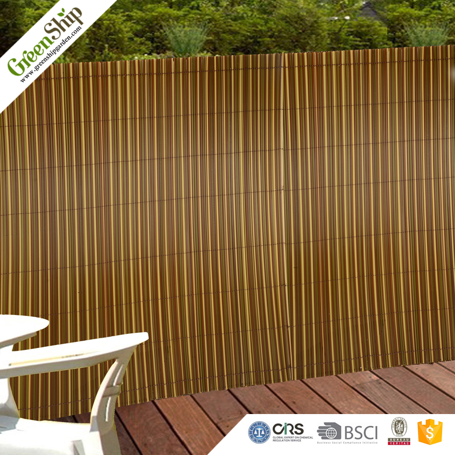 5cm Plastic Bamboo PP Fiber Fencing For Garden Decor