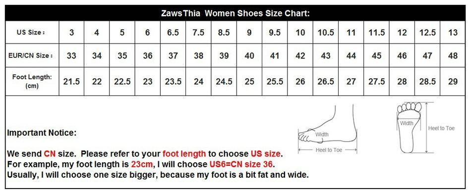 size chart 33-48