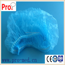 colorful PP non woven round mop bouffant cap for hospital